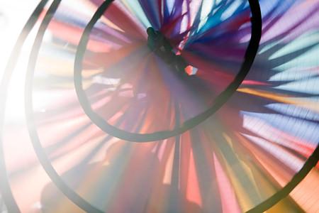 Close Up Of A Pin Wheel