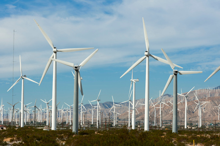 Wind Farm, Palm Springs, California, USA LANG_EVOIMAGES