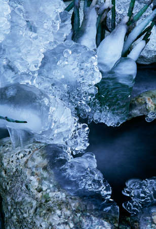Ice formations, Seattle, Washington