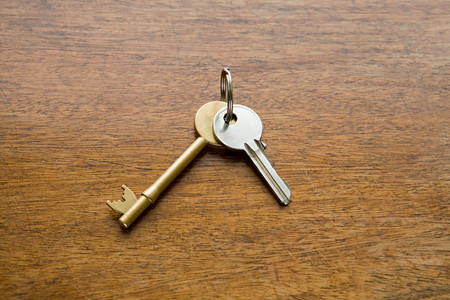 Keys on a table