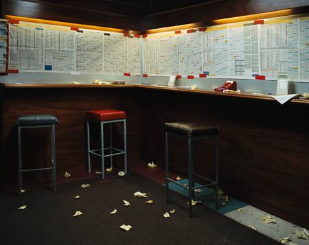 Empty betting shop