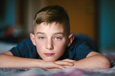 Portrait of boy LANG_EVOIMAGES