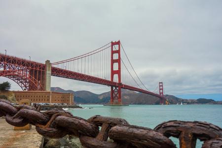 The Golden Gate Bridge,San Francisco,USA