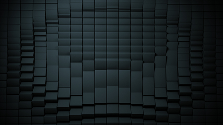 Background cube Distortion Black, box, effect 写真素材 - 109111029
