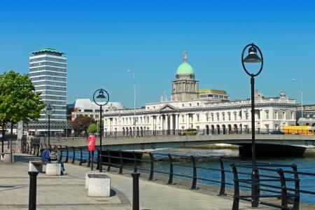 dublin ireland: A view of Dublin
