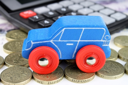 A car finance concept, to cover all financial aspects of a car  photo