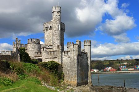 blackrock: The historic medieval castle and observatory, at Blackrock in Cork, Ireland