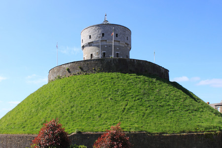 The historic Milmount fort in Drogheda, County Louth, Ireland