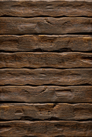 wood log: Vertical log background with wood texture Stock Photo