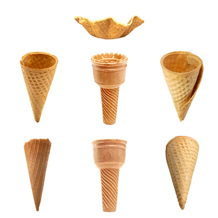 ice cream scoop: Ice cream cones collection