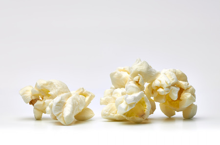 field depth: Popcorn close up in shallow depth of field Stock Photo