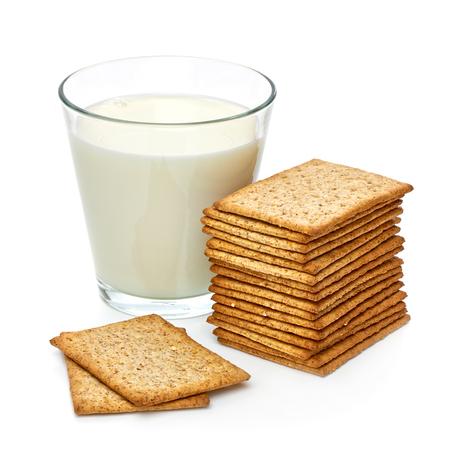 skim: Dieter milk with crisp bread