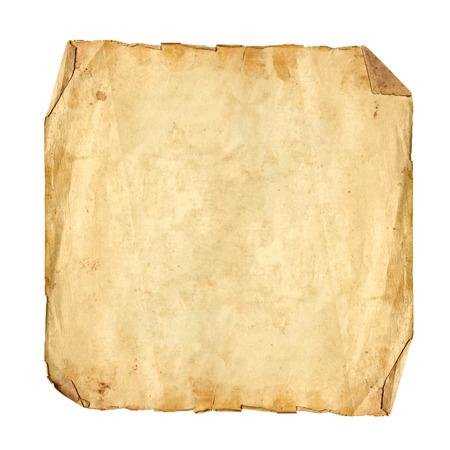 正方形フォーマットはアンティークの紙をテクスチャ 写真素材