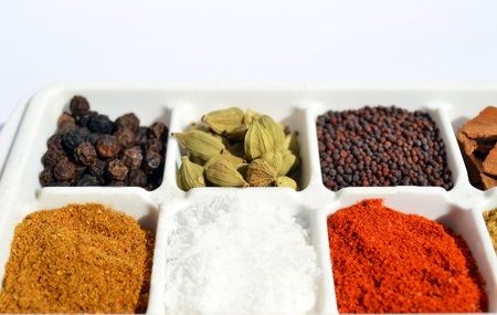 Indian Spices and Masala Stock Photo - 11927694