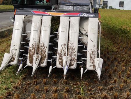 Harvesting of Combine harvester