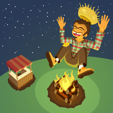 hick: Jumping Over Bonfire
