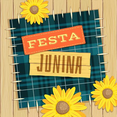 hick: June Festival, brazilian june fest theme with flowers