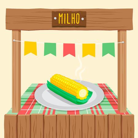 cob: Corn Cob Tent - June Festival, brazilian june fest