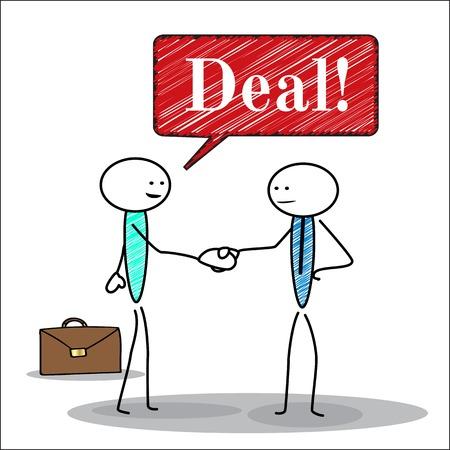 Handshake, business deal