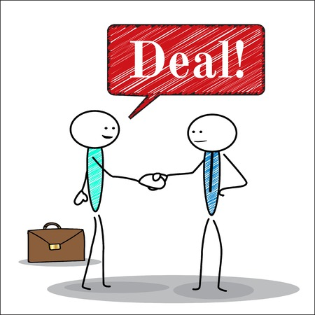 business deal: Handshake, business deal