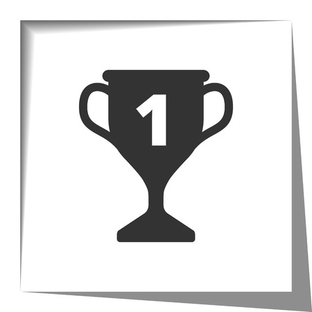 cut the competition: First prize trophy