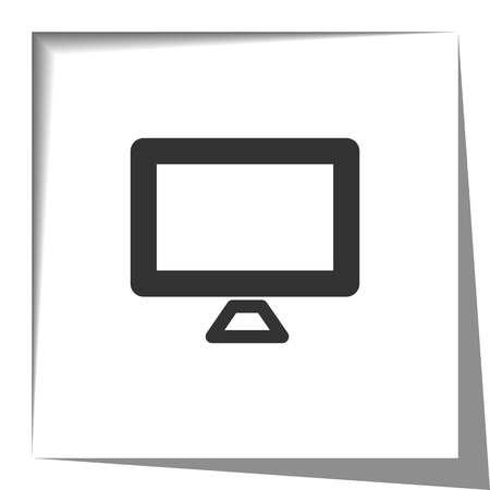 screen: Computer screen