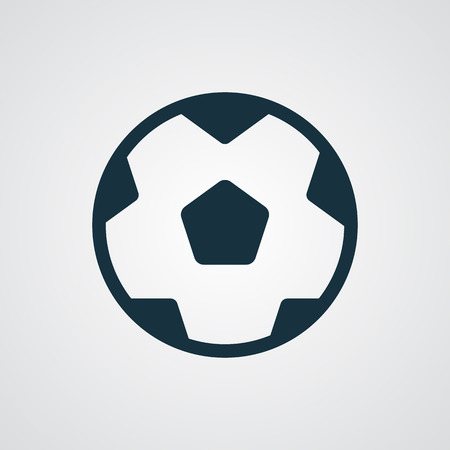 kick ball: Flat Football icon