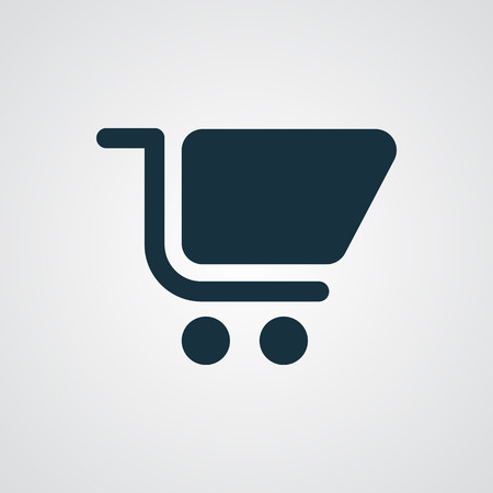 shopping cart icon: Flat Shopping Cart icon