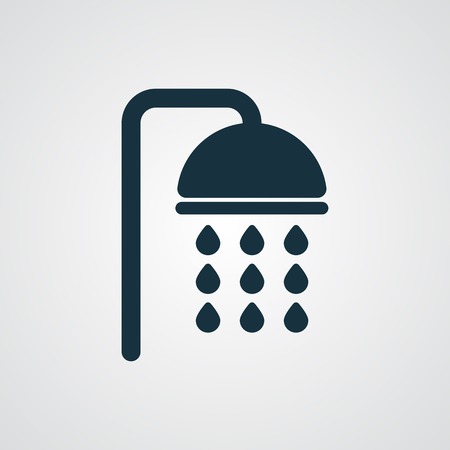 Flat Shower icon