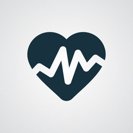 такса: Flat Heart Rate Pulse icon