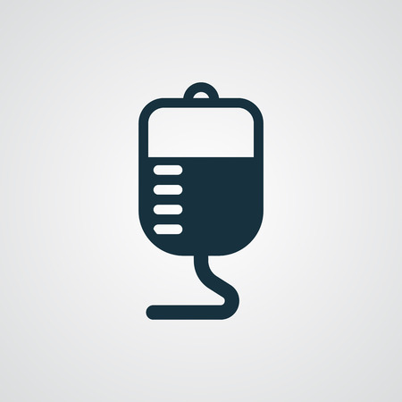 donor blood type: Flat Transfusion icon