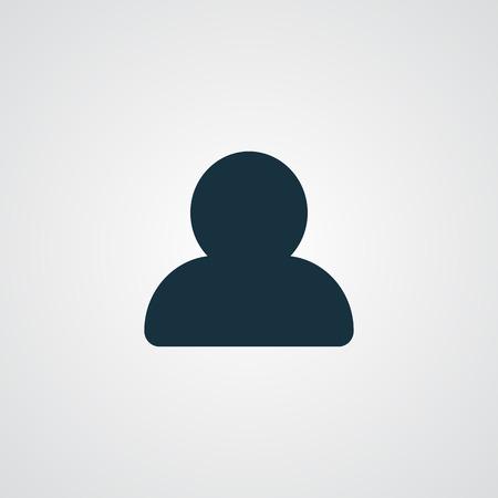Flat Profile icon