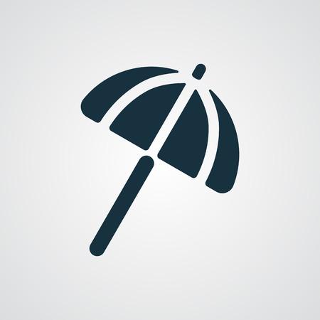 parasol: Flat Parasol icon