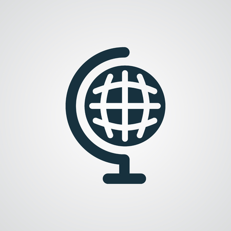 flat earth: Flat Earth Globe icon