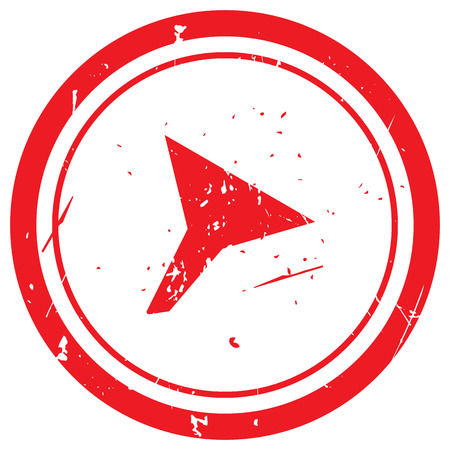 funnel: Red Funnel rubber stamp