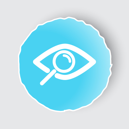 observation: Blue app button with Observation icon on white.