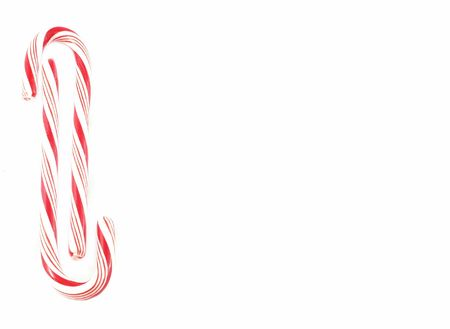 peppermint candy: Candy canes border