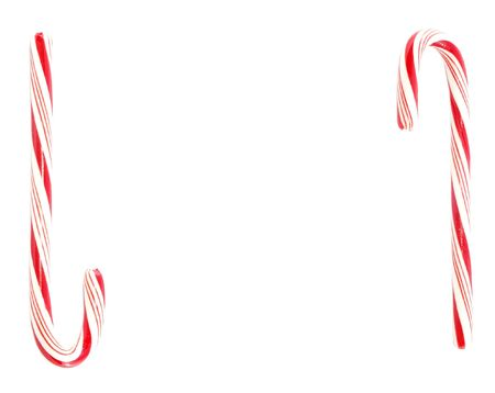 candycane: Candy canes with space for text