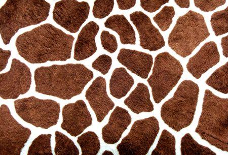 Giraffe skin pattern for background Stock Photo