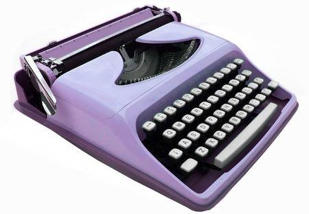 Vintage typewriter 版權商用圖片