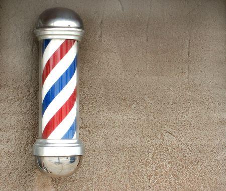peluquero: Polo de Barber sobre una antigua muralla