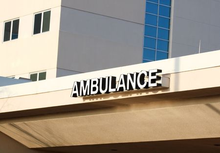 Ambulance enterance