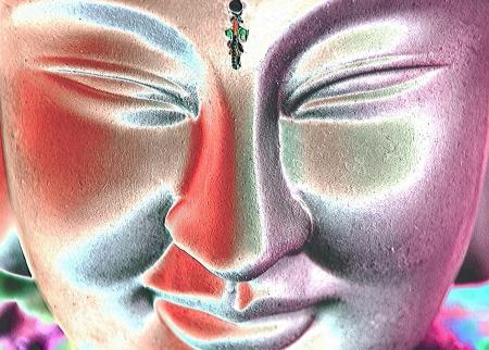 obudził: Budda Zdjęcie Seryjne
