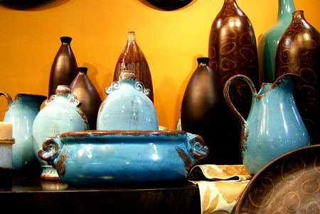 housewares: POTTERY
