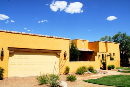 stucco house: HOME ARCHITECTURE