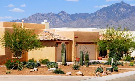 desert sun: ARCHITECTURE HOMES