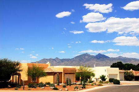 southwest usa: ARCHITECTURE HOUSE Stock Photo