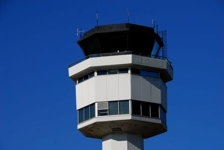 control tower: Control tower Stock Photo
