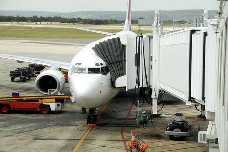 Aeroplane, loading