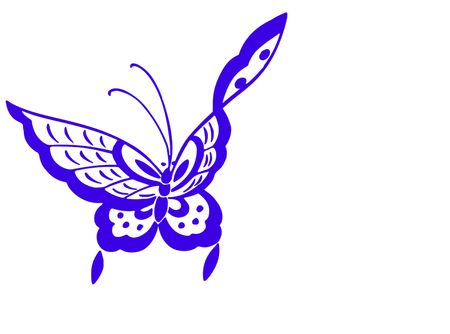 BUTTERFLY ILLUSTRATION Stock Illustration - 2869399